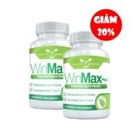 combo 2 sản phẩm winmax-plus hỗ trợ điều trị chống xuất tinh sớm